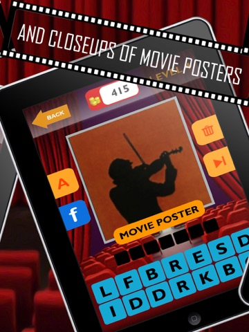 Movie Trivia Quiz: Guess pop movie stars, actors, actresses.  New fun puzzles!-ipad-2