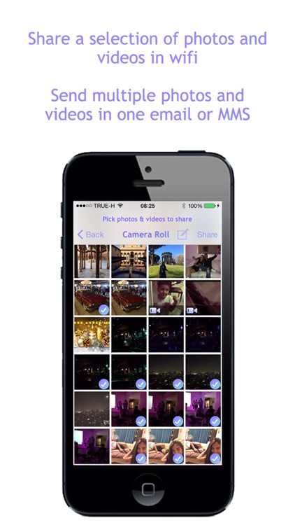 Photos In Wifi - Share the photos and videos of your camera roll in wifi screenshot-3