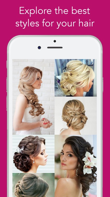 Hair Styles 2016 PRO - App for Hair Color and Cut, Salon Trends, Beauty Tips screenshot-0