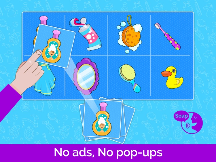Kids puzzles games: baby toddler kids free puzzle screenshot-3