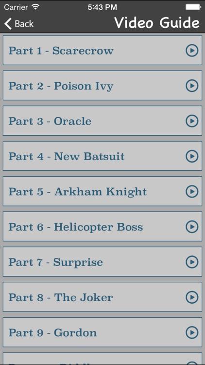 Gamer's Guide for Batman Arkham Knight screenshot-3