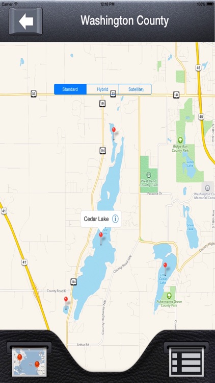 Wisconsin Lakes & Ramps