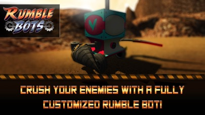 Screenshot from Rumble Bots