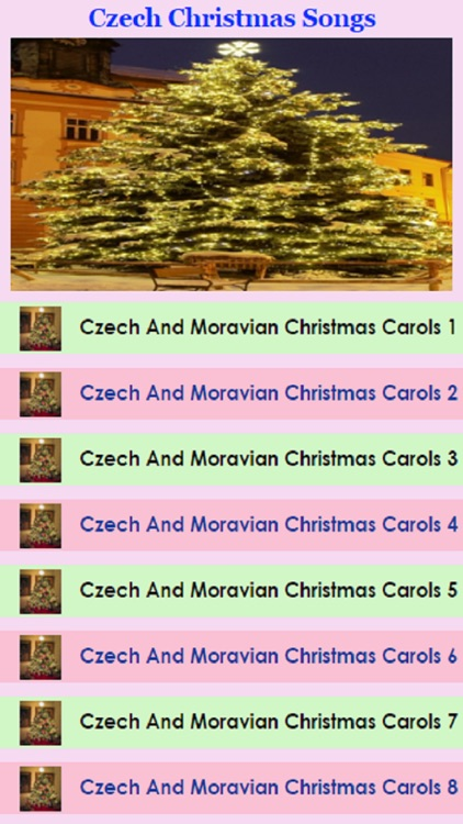 Czech and Moravian Christmas Carols
