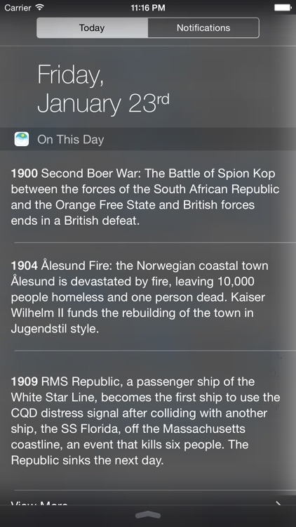 On This Day In History.