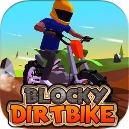 Blocky Dirt Bike