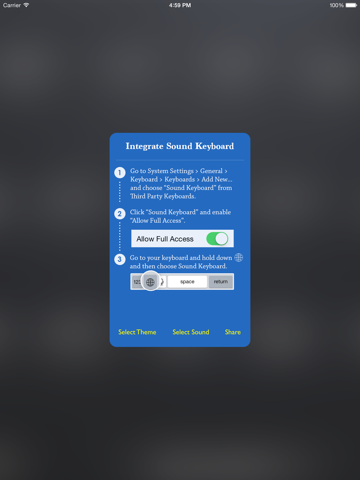 Keyboard Sound - Customize Typing, Clicks Tone, Color themes   App