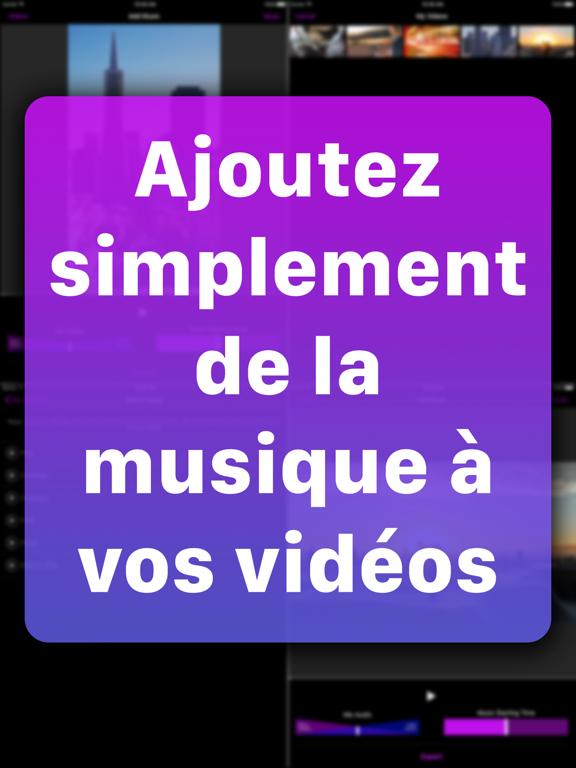 Ajout de musique sur vidéos