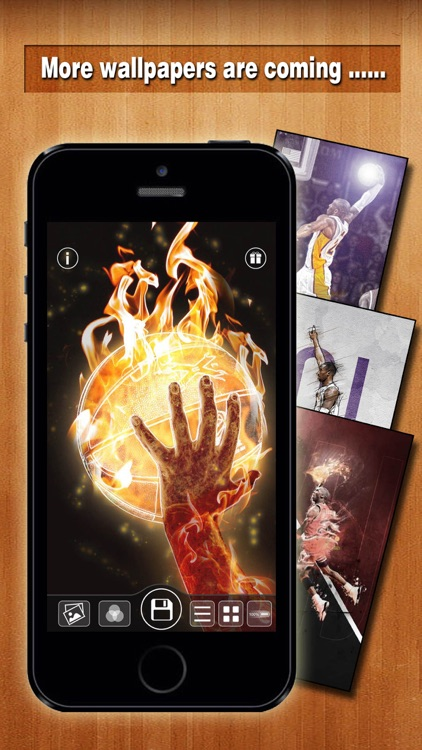 Basketball Backgrounds - Wallpapers & Screen Lock Maker for Balls and Players screenshot-4