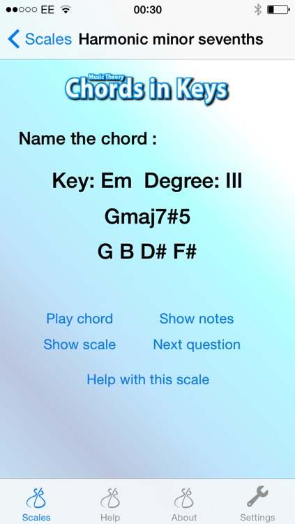 Music Theory - Chords in Keys screenshot-3