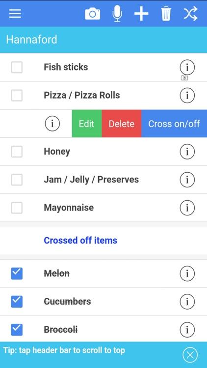 Easy Grocery List Plus