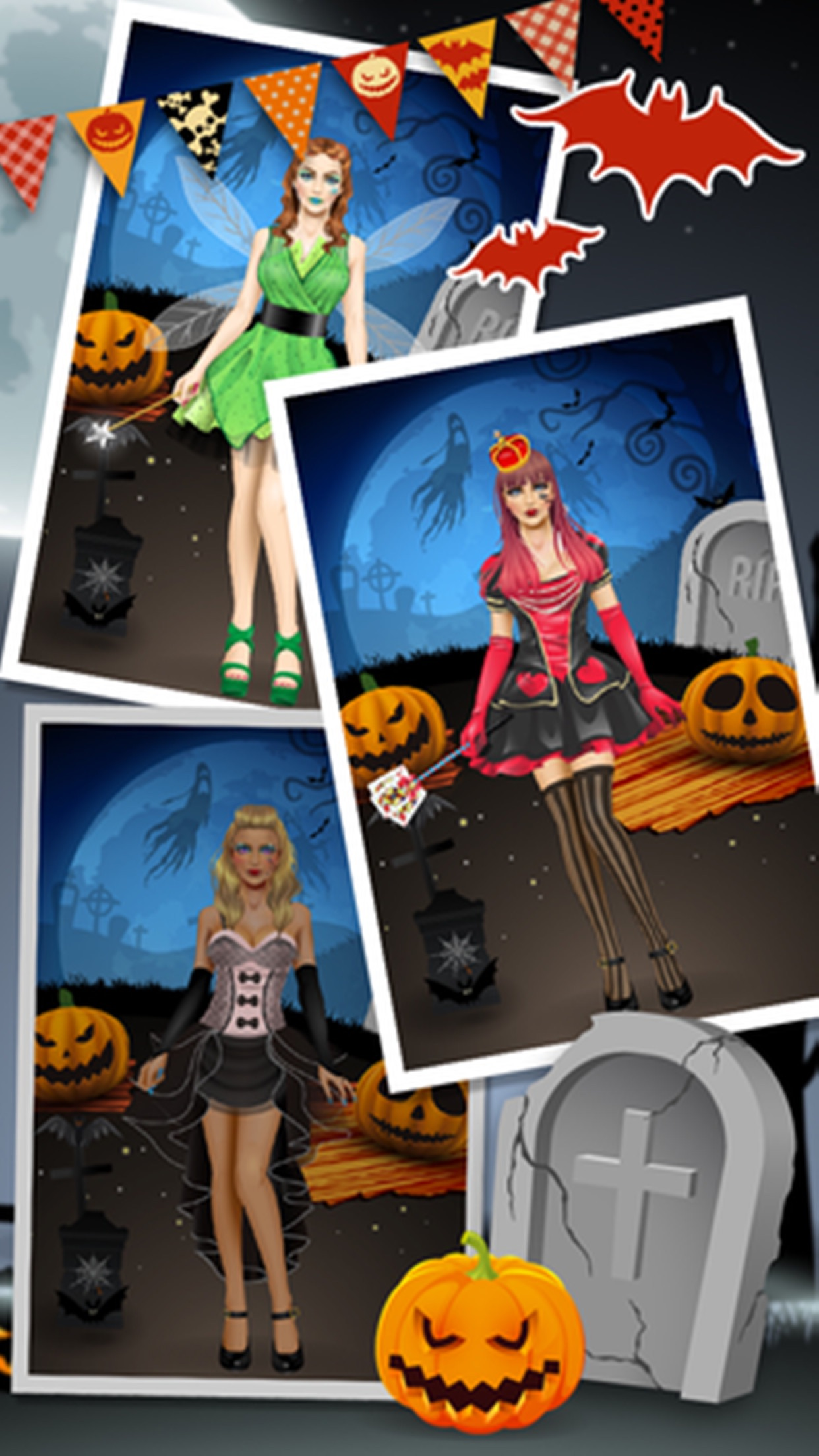Halloween SPA, dress design - kids games Screenshot
