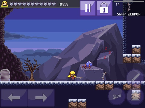 Кэлли в Пещеры 3 Cally's Caves 3 Screenshot