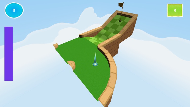 Ultimate Flick Golf Challenge Mobile Game : Pixel Hole Madness screenshot-3
