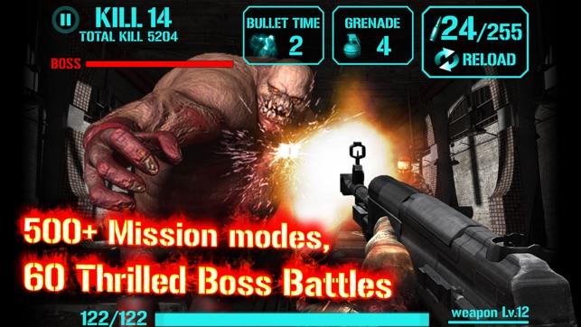 Zombie shooting games ipad