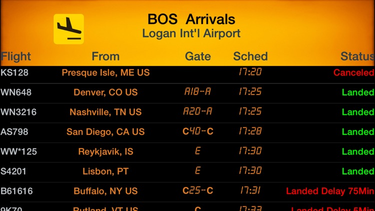 iFlightBoard Live-- Departures & Arrivals