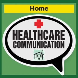 Healthcare Communication App Home