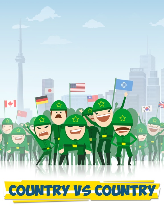 Скачать игру Tap Tycoon - Country vs Country