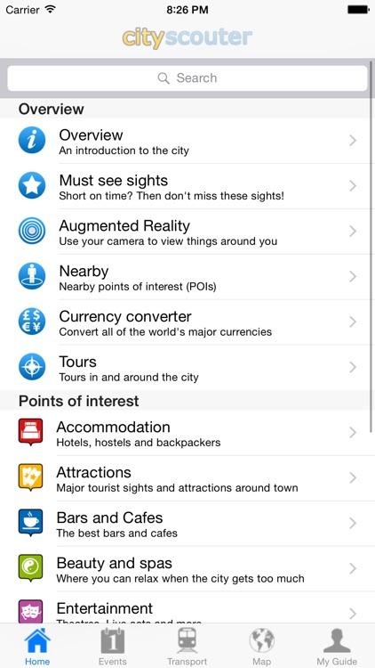 Barcelona Travel Guide Offline