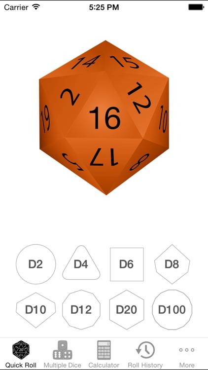 Natural 20 - for Rolling Dice screenshot-0
