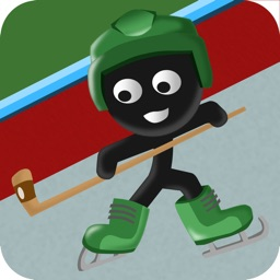 Stick-man Hockey Star Skater Fight