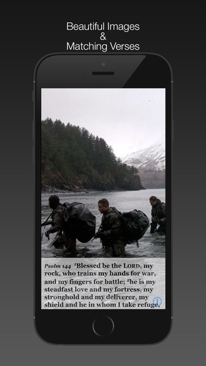 Navy Psalm Daily Quotes ESV screenshot-1