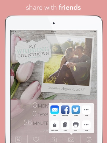 My Wedding Countdown screenshot