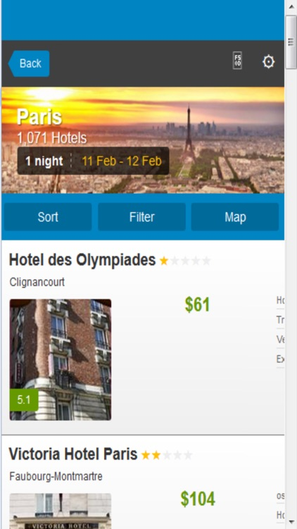 Paris Hotels & Maps