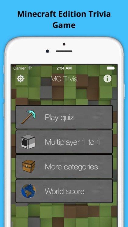 MC Trivia - Guess the Quiz Questions Minecraft Edition by murad kasaoui