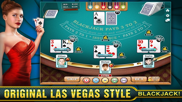 BlackJack Online - Just Like Vegas! screenshot-4