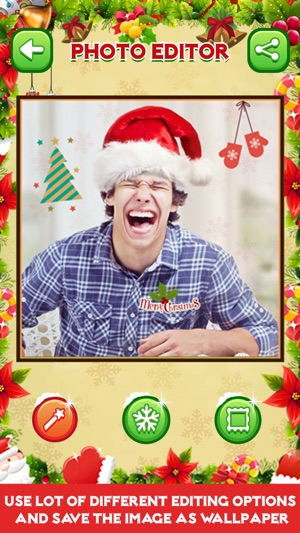 merry christmas photo editor on the app store