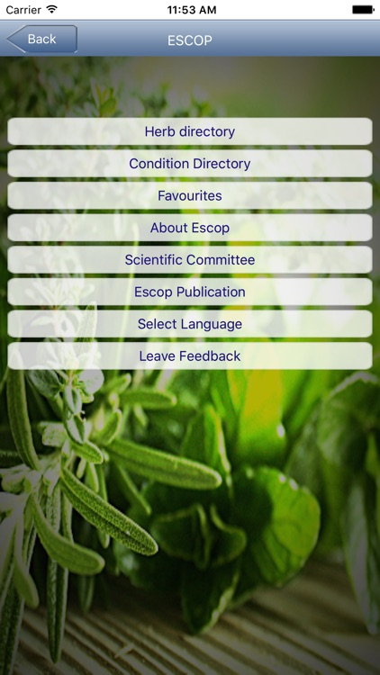 ESCOP Herb Reference screenshot-1