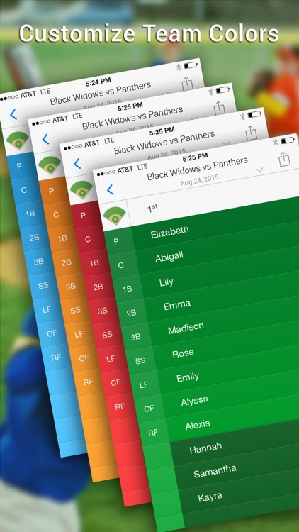 Lineup Softball - Youth Edition screenshot-3