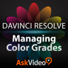 Managing Color Grades in Davinci Resolve - ASK Video