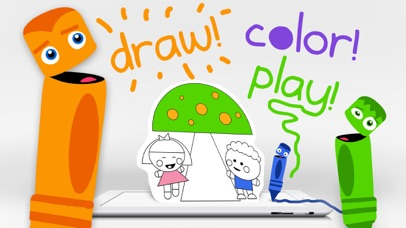 Draw Color & Play - Best Coloring Book App for Preschool Kids screenshot one