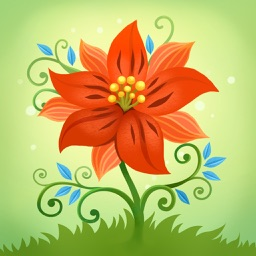 The Little Scarlet Flower. Interactive childrens' book. FREE