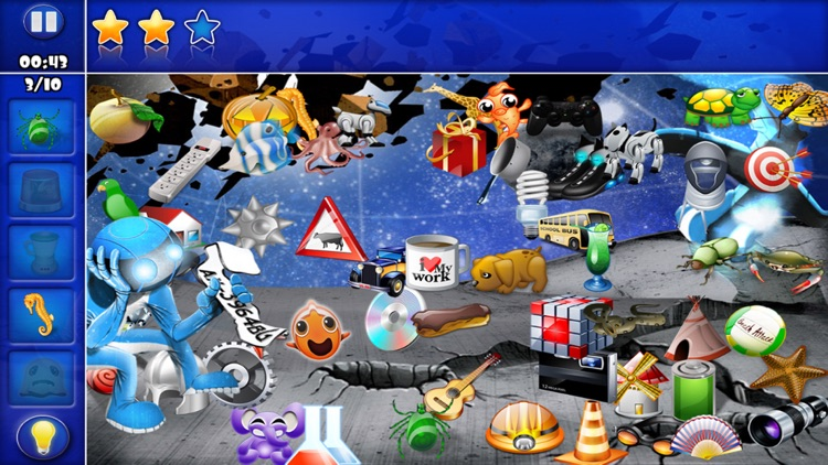 Hidden Object - Will you find them all ?