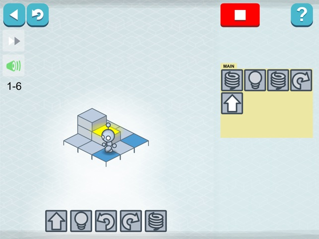 Lightbot : Programming Puzzles Screenshot