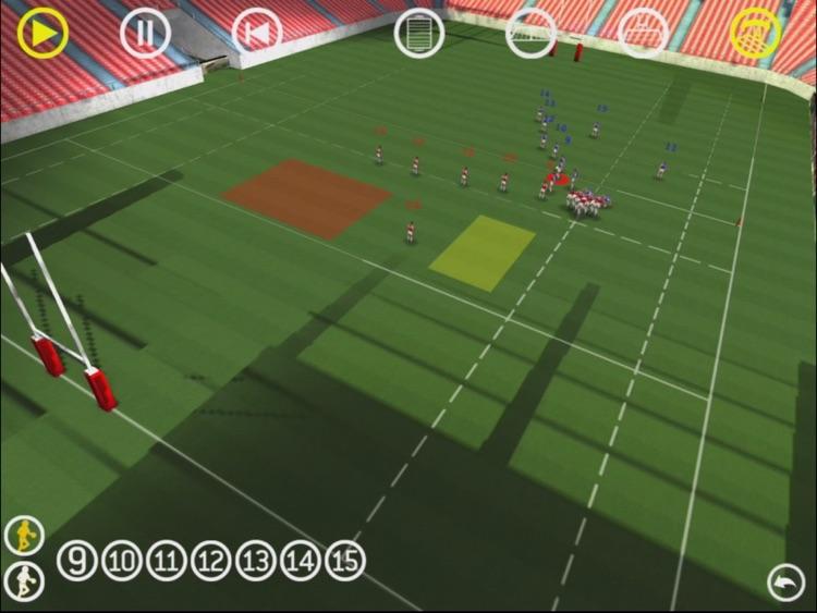 RugbyCoach3D Pro screenshot-3