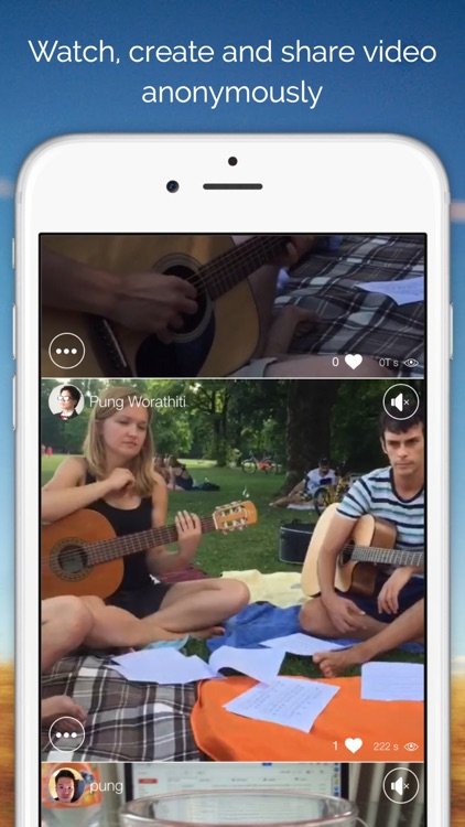 Secondz - Anonymous video sharing