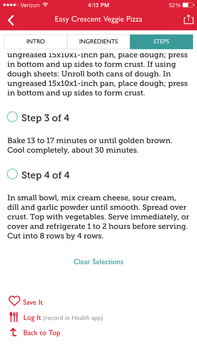 The Betty Crocker Cookbook – Kitchen-Tested Recipes Screenshot