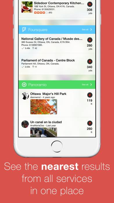 Localscope - Find places and people around you screenshot two