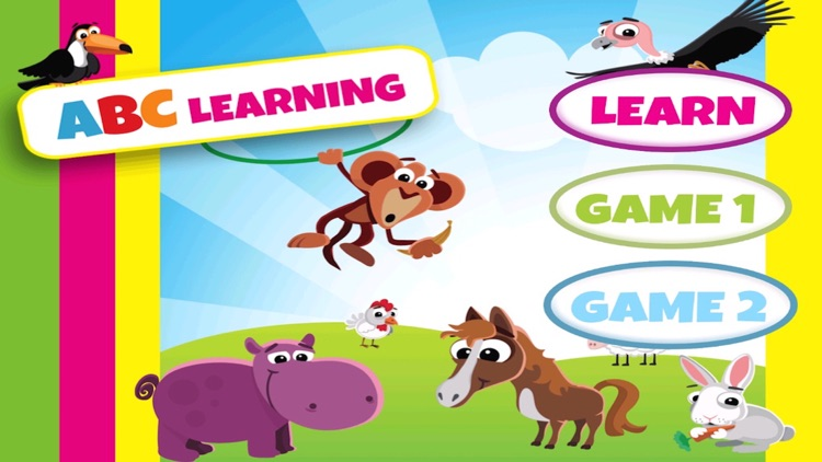 Learn Alphabets For Toddlers - Free Learning Games For Toddlers