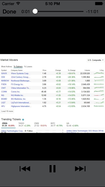 PennyStocks screenshot-1