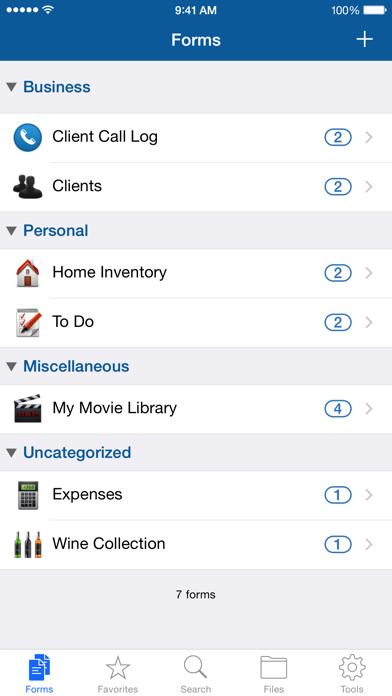 Tap Forms Organizerのおすすめ画像2