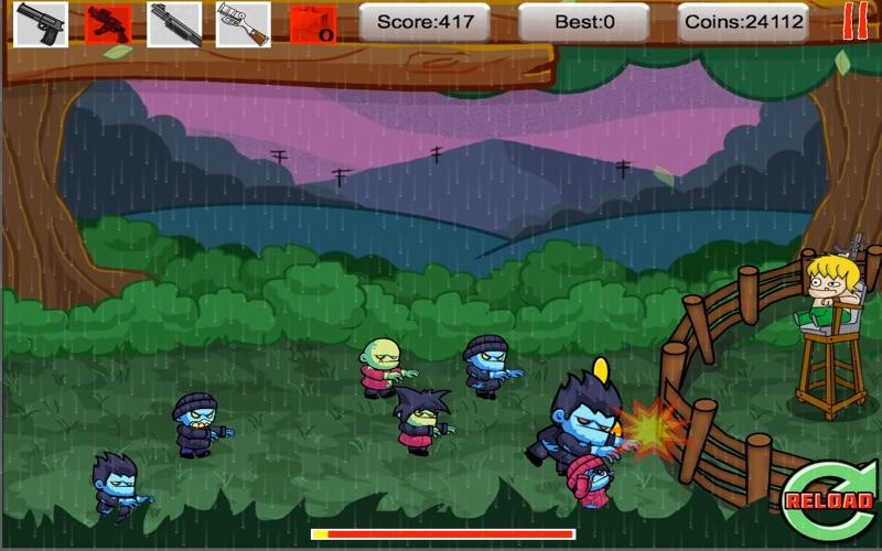 Tiny Zomby The Barricade screenshot 1