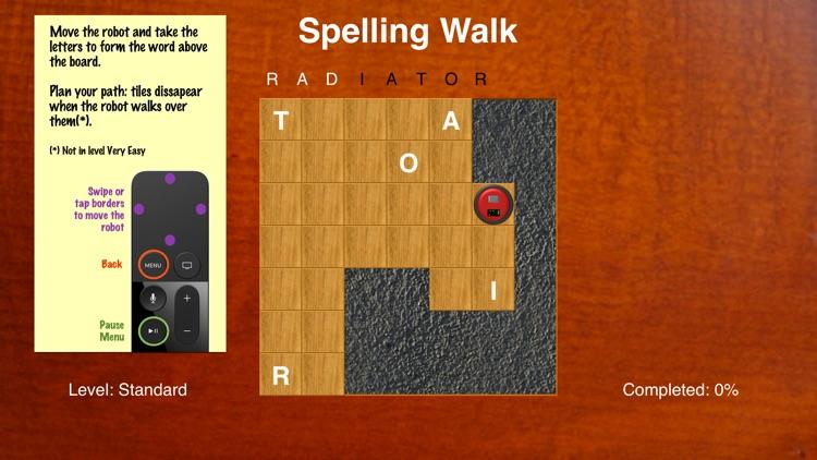 Spelling Walk