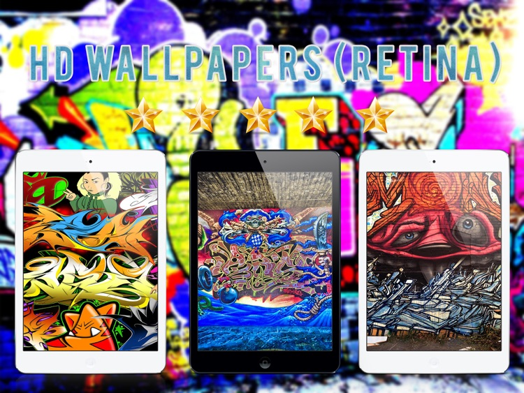 Wallpapers for Graffiti - iPad Version screenshot-3