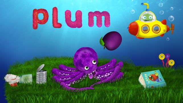 Tiggly Submarine: Preschool ABC Game Screenshot