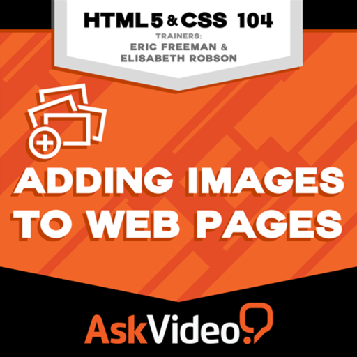 Course for HTML and CSS 104 - Adding Images to Web Pages